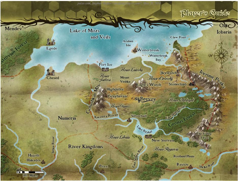 La Nación de Brevoy Map-Brevoy